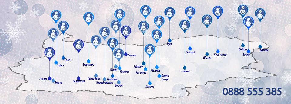 ЛЛЛ карта на българия